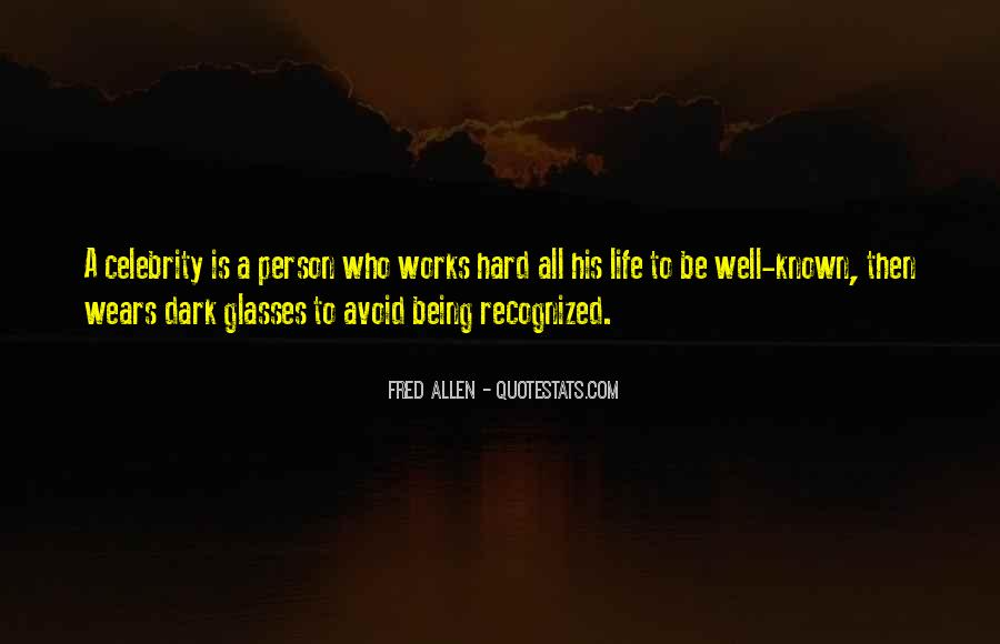 Quotes About Being Known #213975