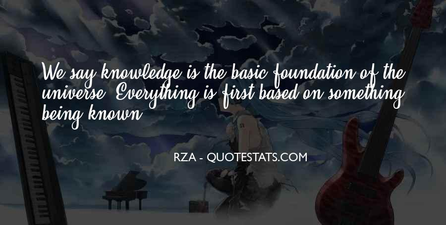 Quotes About Being Known #254620