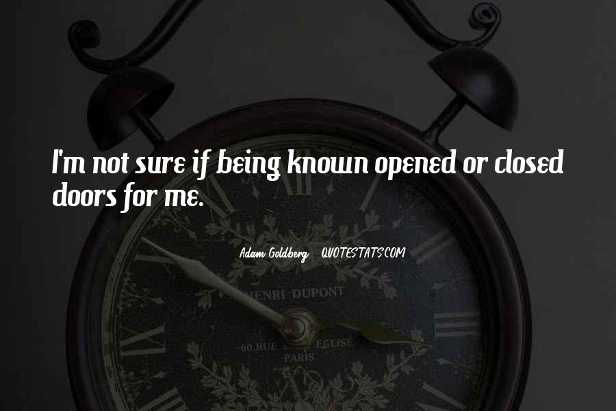 Quotes About Being Known #26552