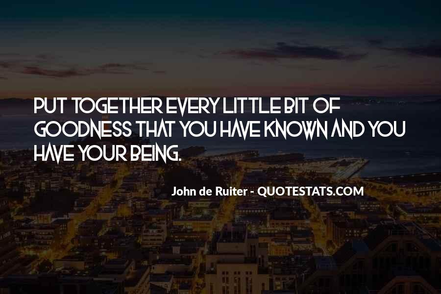 Quotes About Being Known #343284