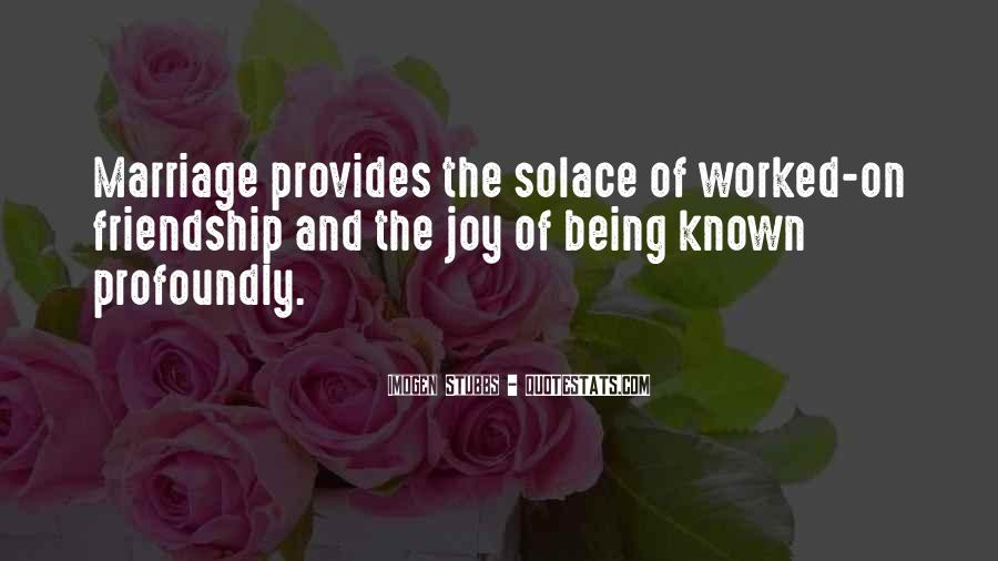 Quotes About Being Known #414074