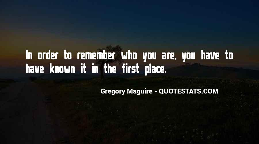 Quotes About Being Known #417022