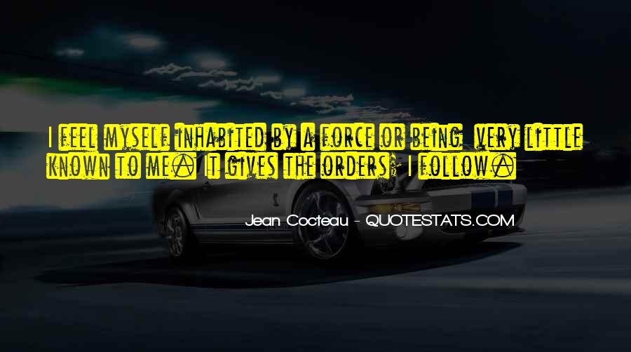 Quotes About Being Known #433013