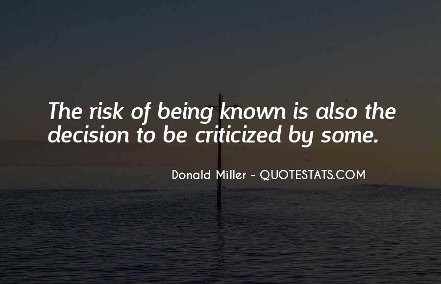 Quotes About Being Known #78758