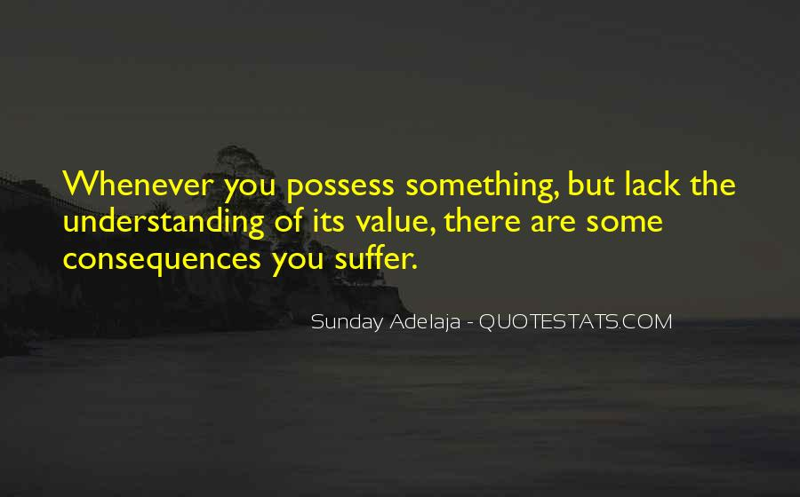 Suffer Consequences Quotes #1748500
