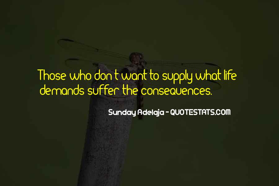Suffer Consequences Quotes #95634