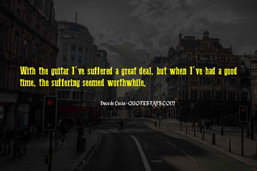 Suffered A Lot Quotes #102843