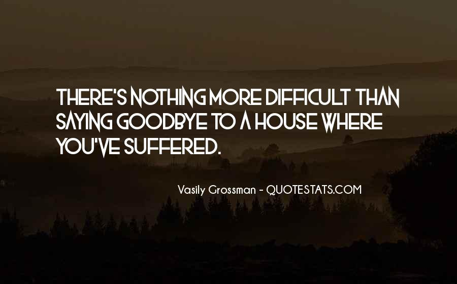 Suffered A Lot Quotes #116514