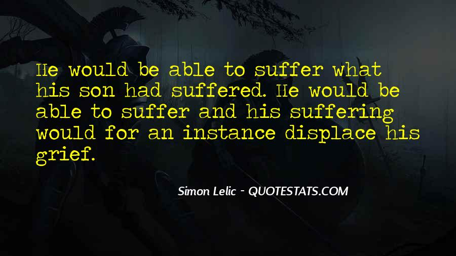Suffered A Lot Quotes #166857
