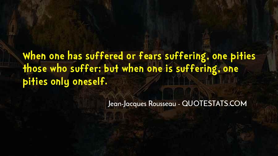 Suffered A Lot Quotes #44659