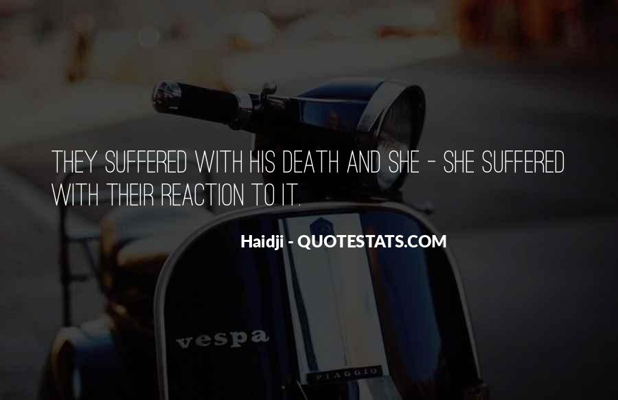 Suffered A Lot Quotes #76872