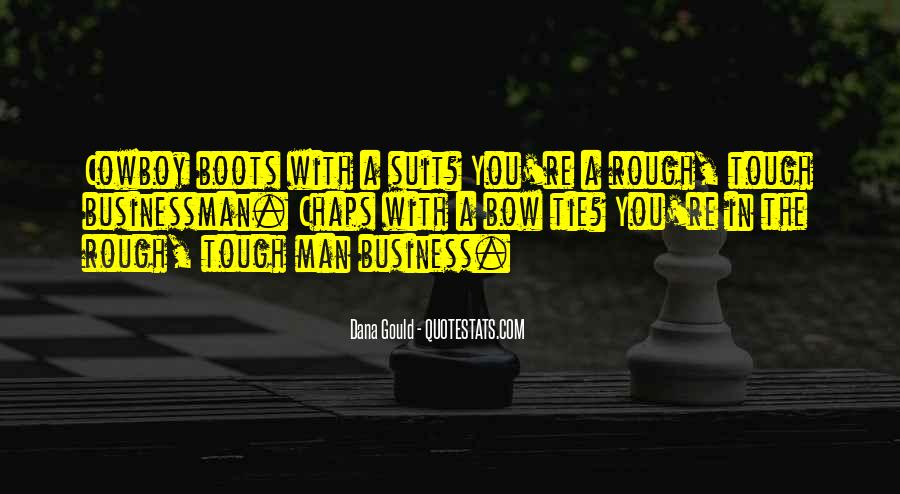 Suit And Bow Tie Quotes #180946