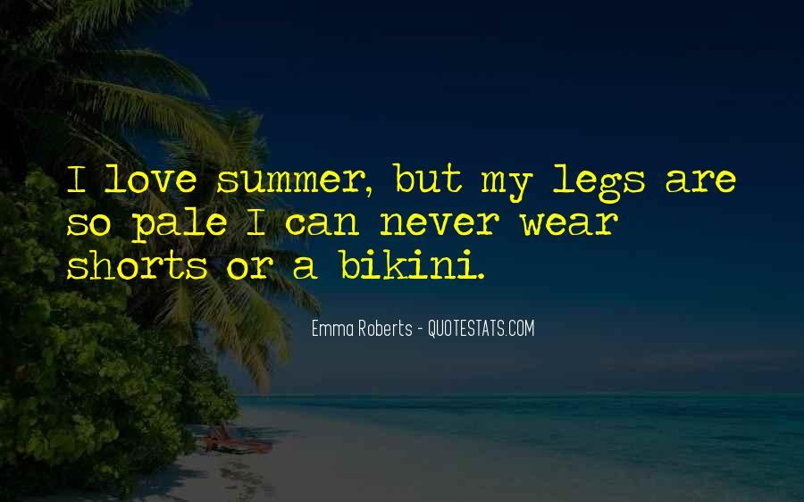 Summer Bikini Quotes #1735339