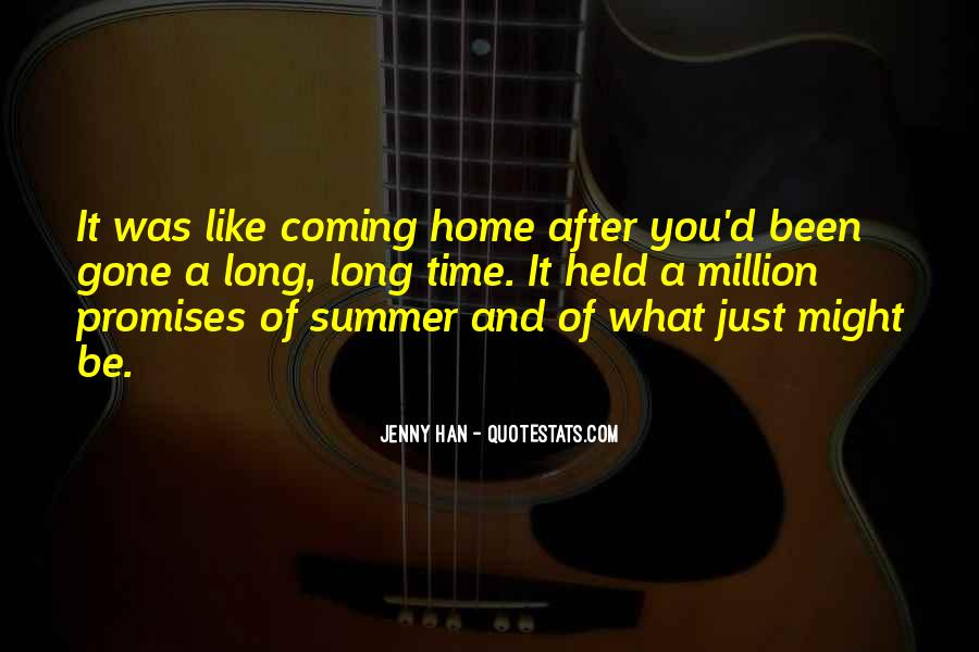 Summer Is Coming Quotes #289774