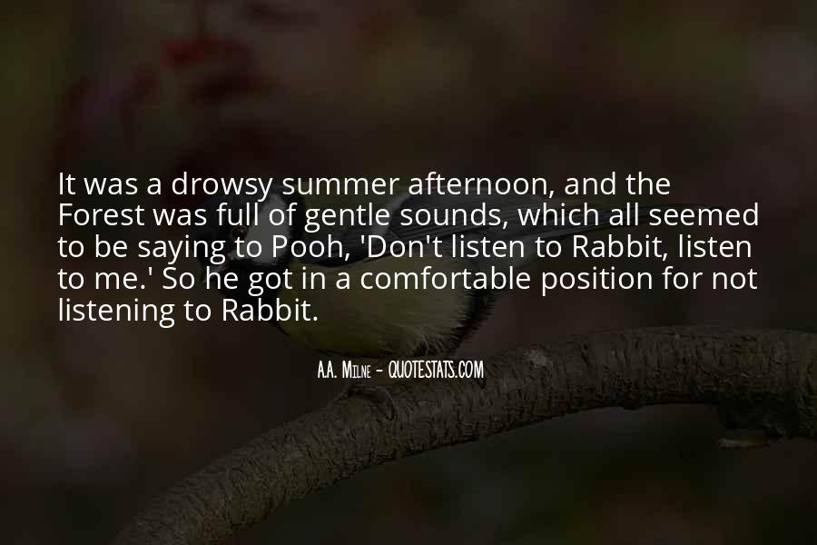 Summer Is Not Over Quotes #10491