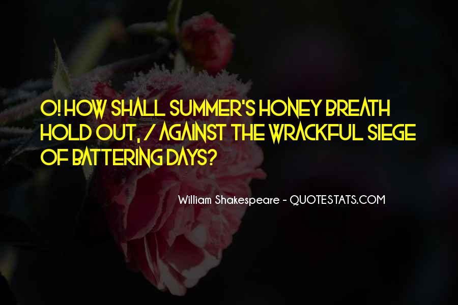 Summer Is Not Over Quotes #24468