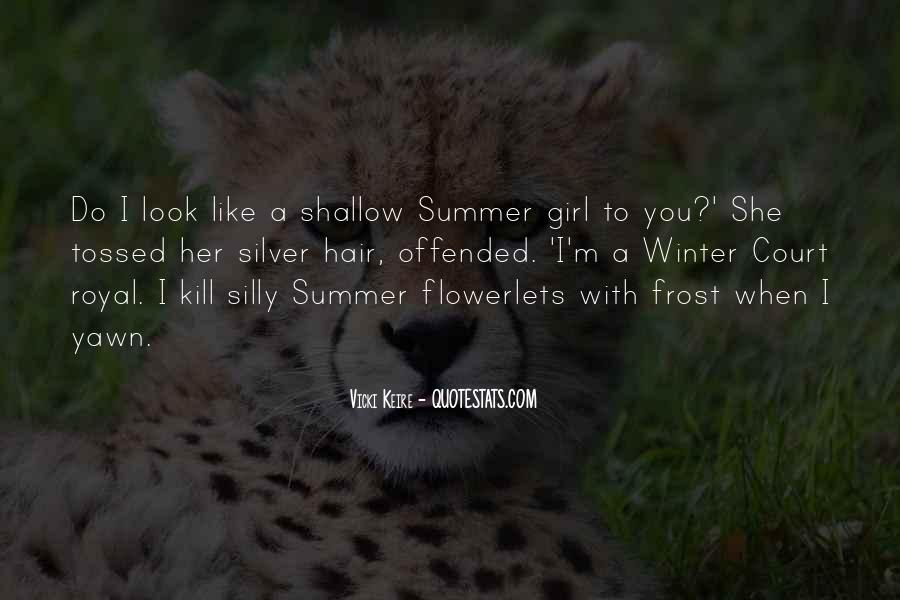 Summer Is Not Over Quotes #26459