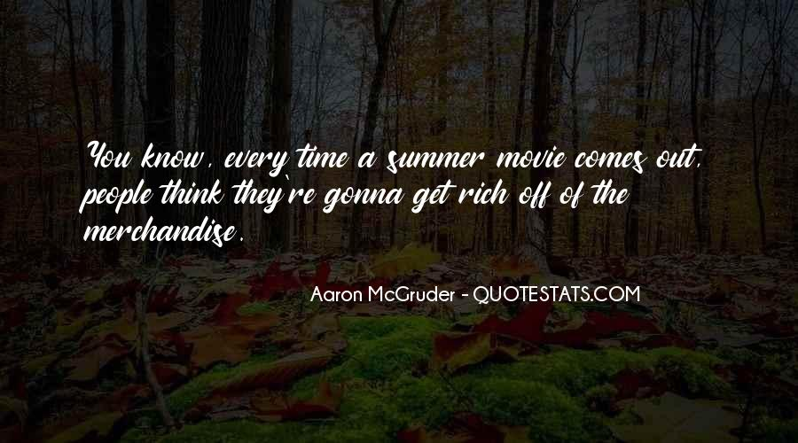 Summer Is Not Over Quotes #27541