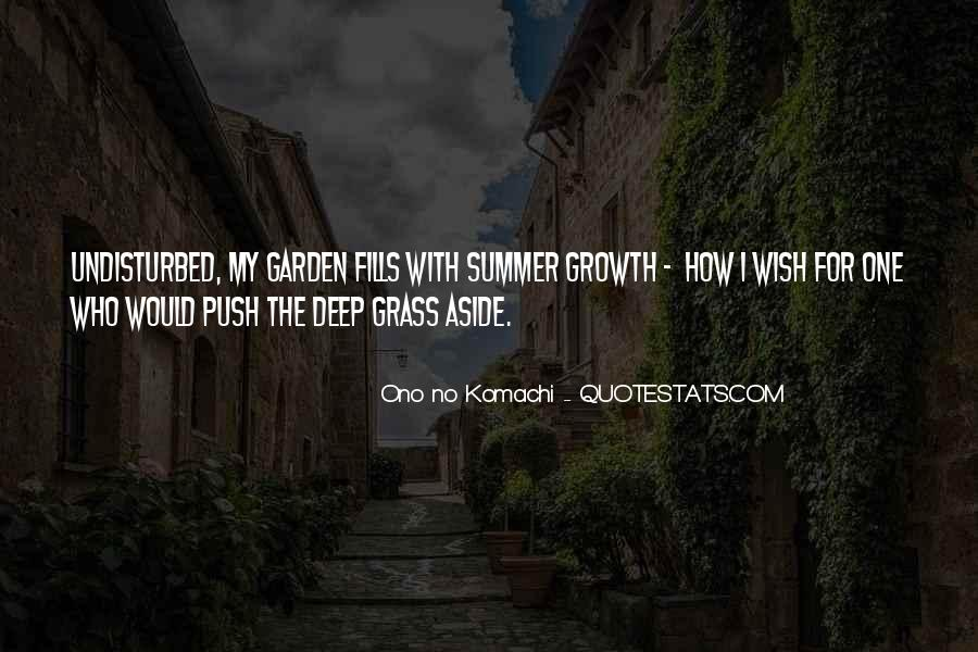 Summer Is Not Over Quotes #30471