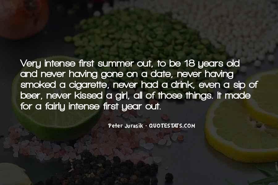 Summer Is Not Over Quotes #32203