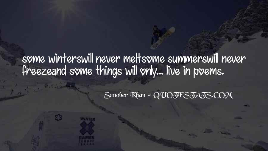 Summer Is Not Over Quotes #35593