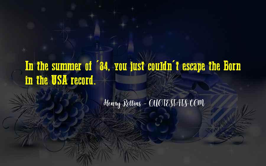 Summer Is Not Over Quotes #46940