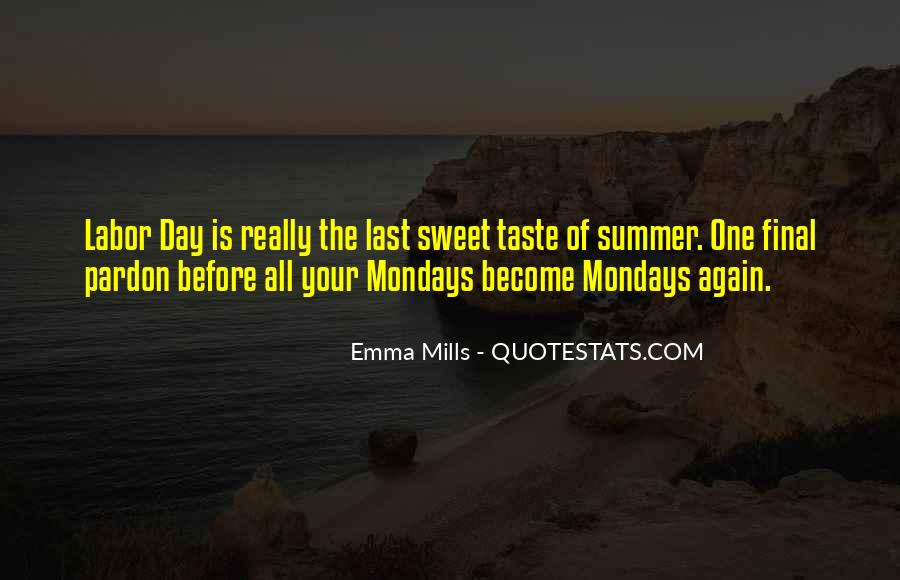 Summer Is Not Over Quotes #47310