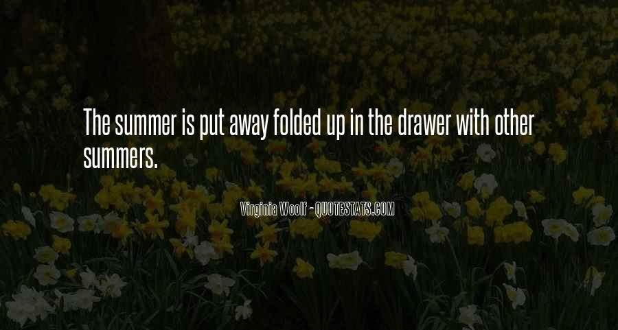 Summer Is Not Over Quotes #8511