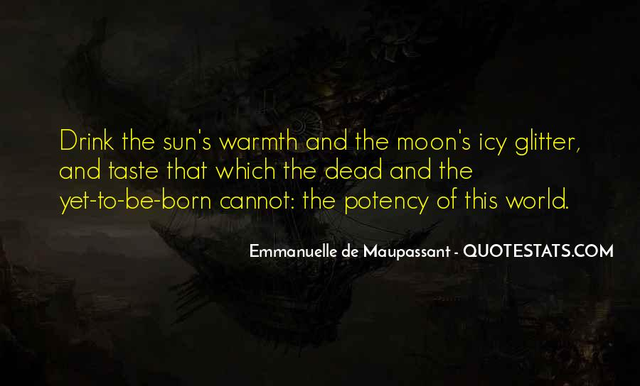 Sun And Moon Life Quotes #2518