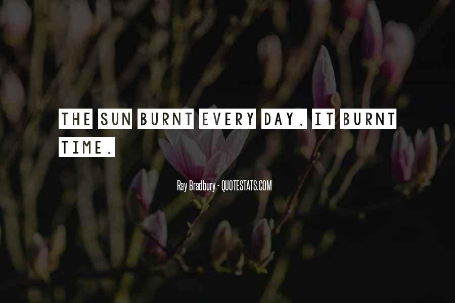 Sun Burnt Quotes #429690