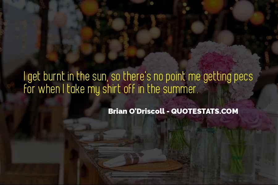 Sun Burnt Quotes #604295