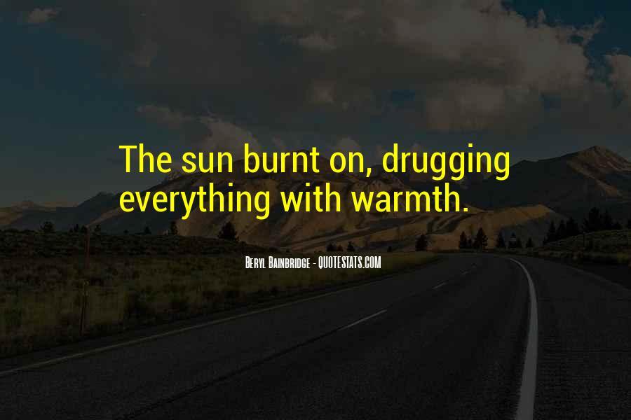 Sun Burnt Quotes #841109