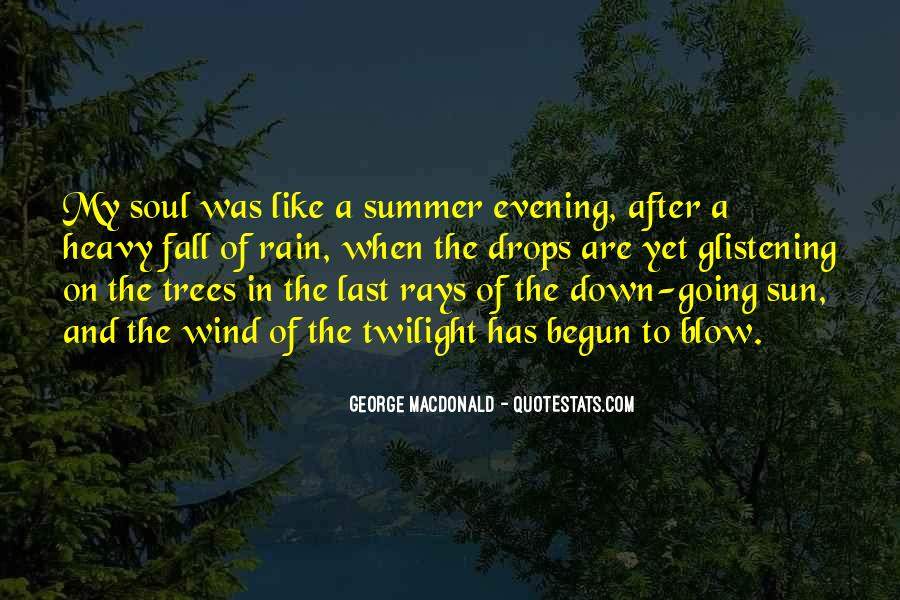 Sun Fall Quotes #1276138