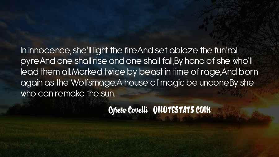 Sun Fall Quotes #1382075