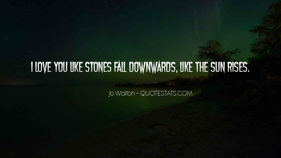 Sun Fall Quotes #1431661