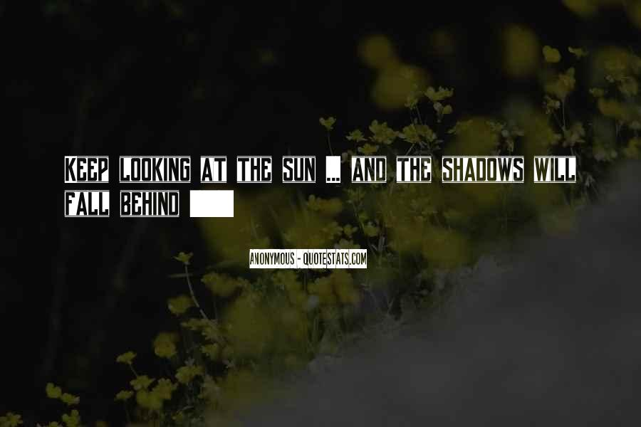 Sun Fall Quotes #152659