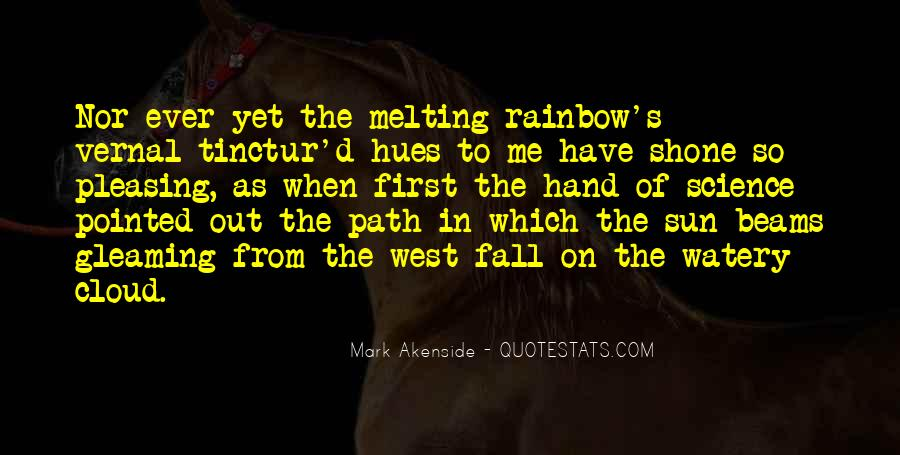 Sun Fall Quotes #1563250