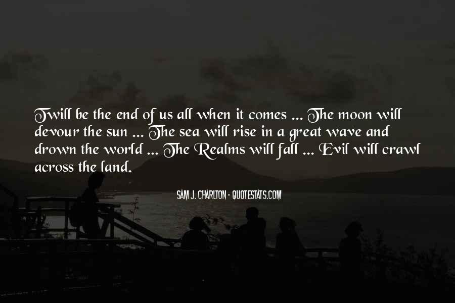 Sun Fall Quotes #1587877