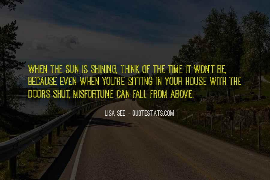 Sun Fall Quotes #1639620