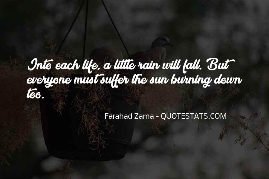 Sun Fall Quotes #205751