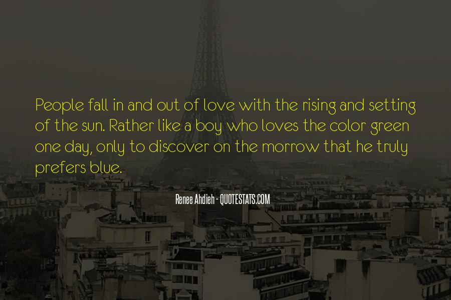 Sun Fall Quotes #290022