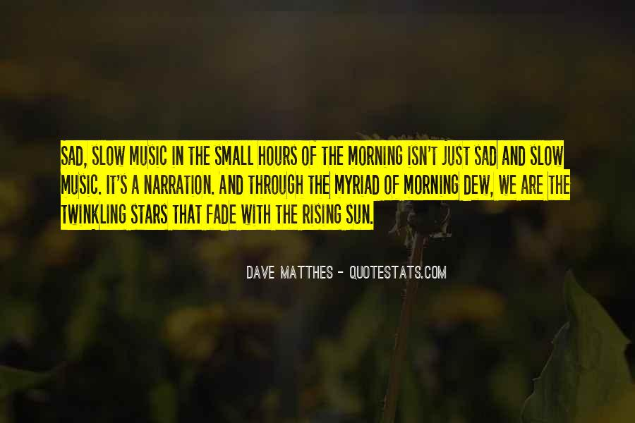 Sun Fall Quotes #296602