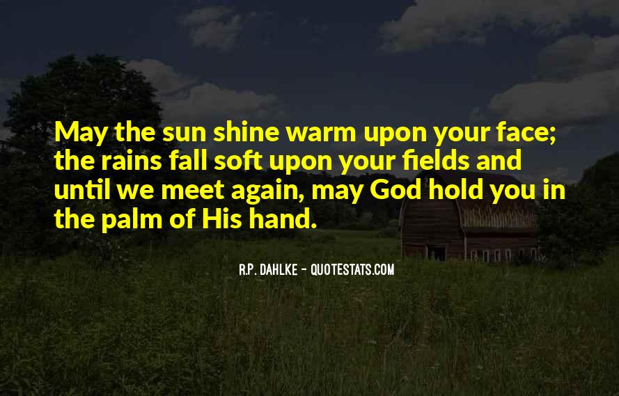 Sun Fall Quotes #417604