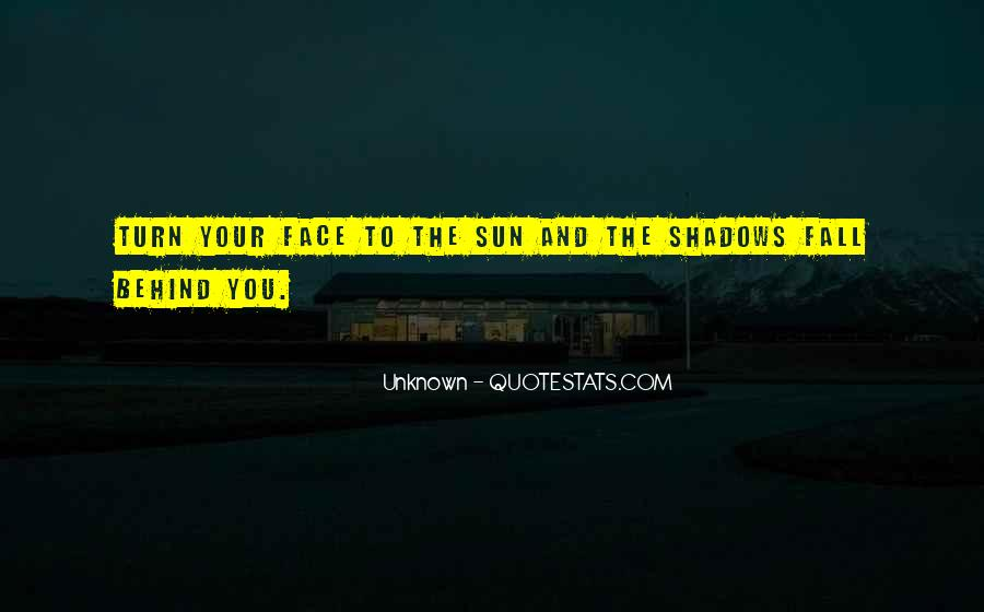 Sun Fall Quotes #510764
