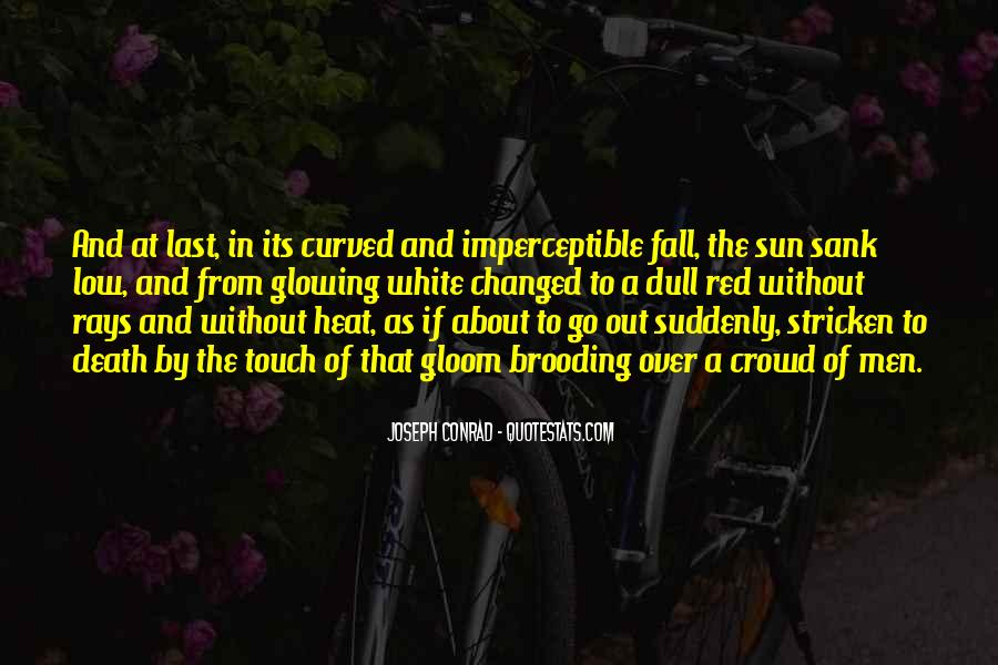Sun Fall Quotes #530780
