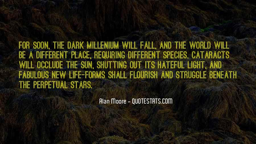 Sun Fall Quotes #674422