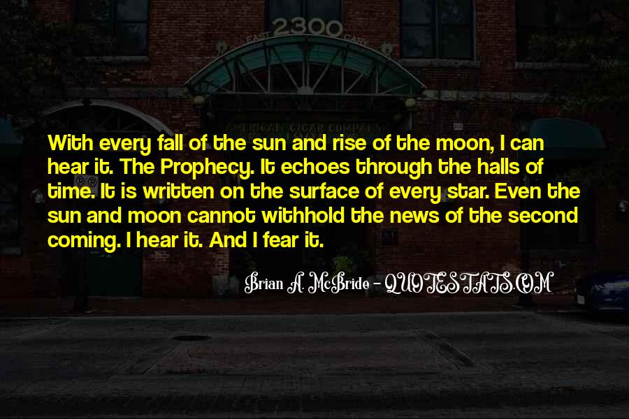 Sun Fall Quotes #716872