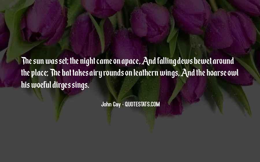 Sun Fall Quotes #824967