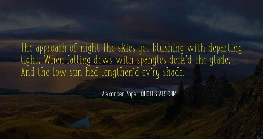 Sun Fall Quotes #965078