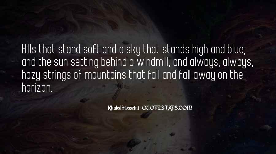 Sun Fall Quotes #999217